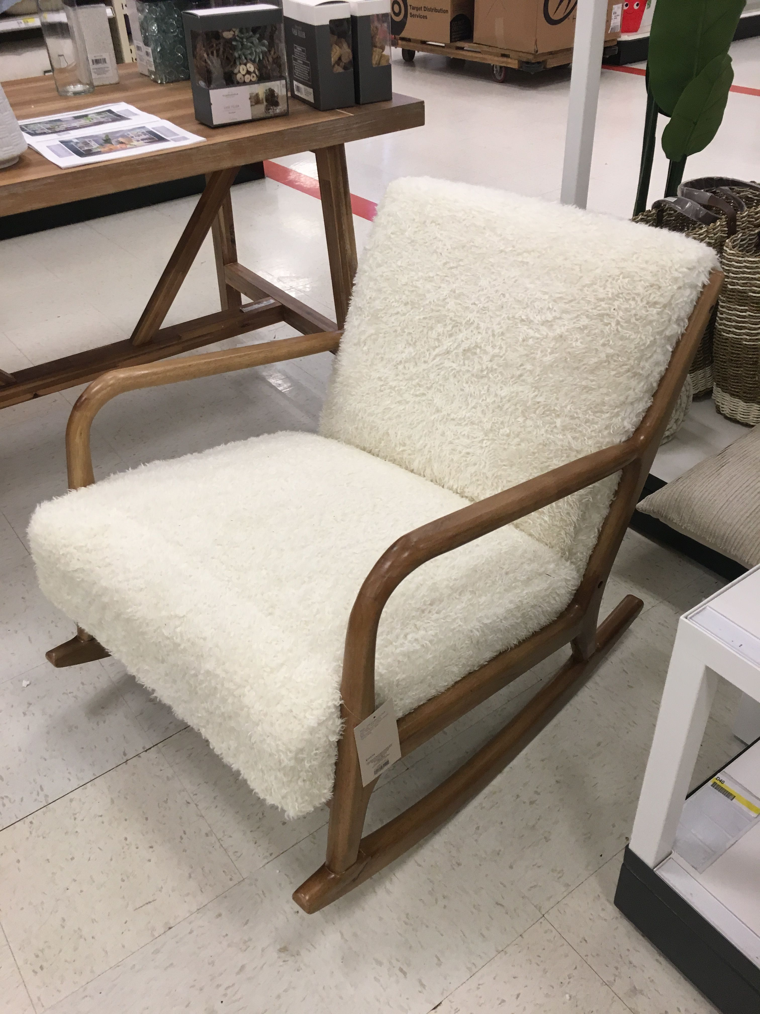 Tremendous Project 62 Esters Sherpa Rocking Chair Evergreenethics Interior Chair Design Evergreenethicsorg
