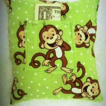 Boy Toothfairy Pillow at the Shopping Mall, $8.00 (USD)