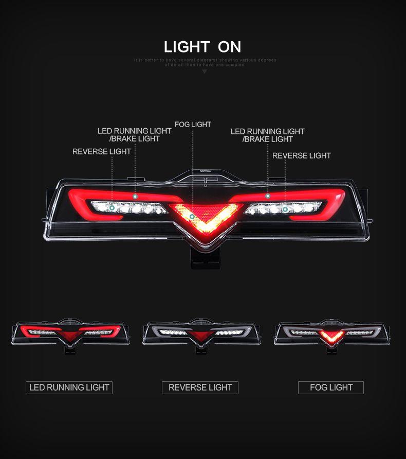 Scion FRS Subaru BRZ Toyota GT86 Smoked LED Rear Bumper Reverse Brake Light 13