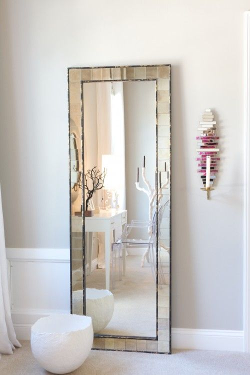 I want a full-length mirror. Every fashion lover knows a glimpse in ...