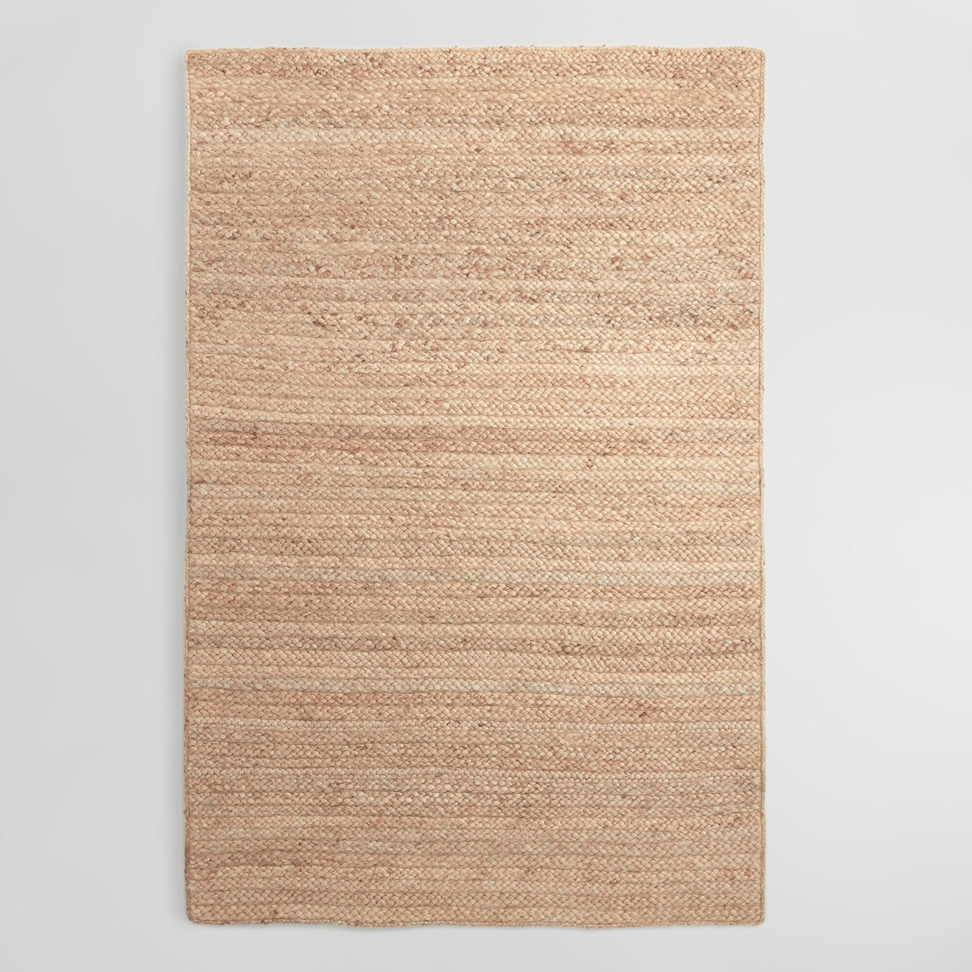 Natural Chunky Braided Jute Flynn Area Rug 9 X 12 By World