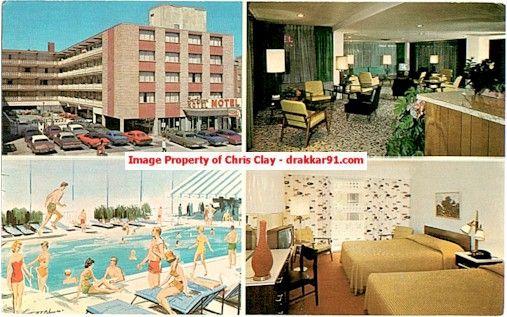 Atlantic City Nj C 1960 Barbizon Motel Ocean End Of North Carolina Ave Atlantic City City Atlantic