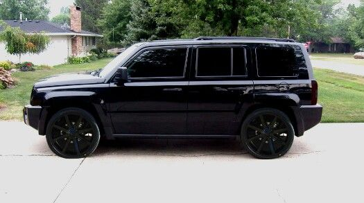Or All Blacked Out Jeep Patriot Jeep Jeep Cars