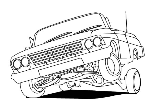 Lowrider Cars Hydraulics Coloring Pages Download Print Online Coloring Pages For Free Color Nimbus Cars Coloring Pages Lowrider Drawings Lowrider Art