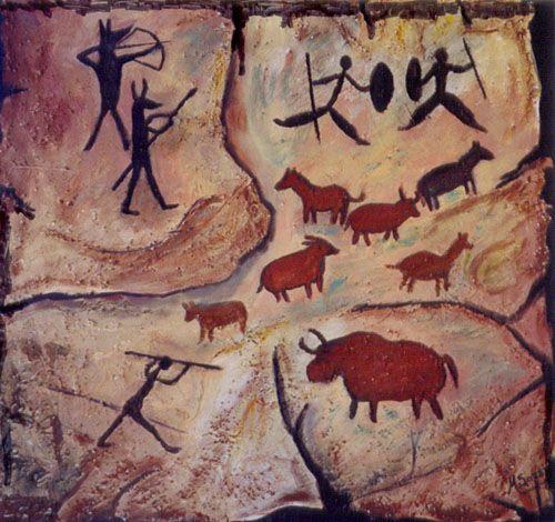 Pinturas Rupestres De El Mexico Prehispanico Arte Rupestre Imagenes De Arte Arte Prehistorico