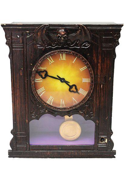 Antique Haunted Clock I remember Halloween! Pinterest