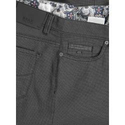 5-Pocket Hose in Minimalstruktur, Cadiz, Straight Fit von Brax in Anthrazit für Herren BraxBrax #Fit...