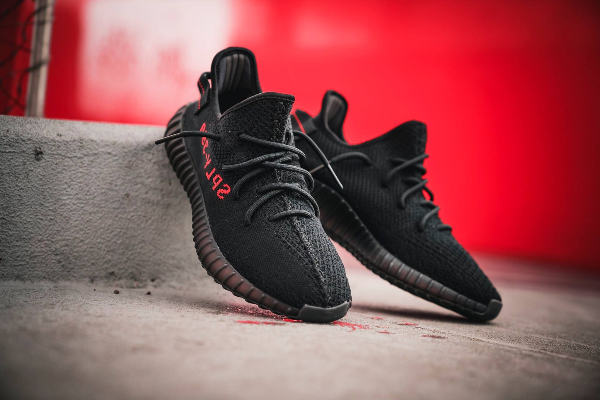 b3e16d8a1be8b adidas Yeezy Boost 350 V2 – Core Black   Red   Closer Look