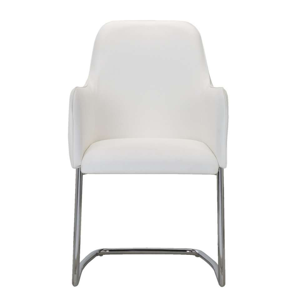 Eetkamerstoel Tokyo - wit | Leen Bakker | stoelen | Pinterest