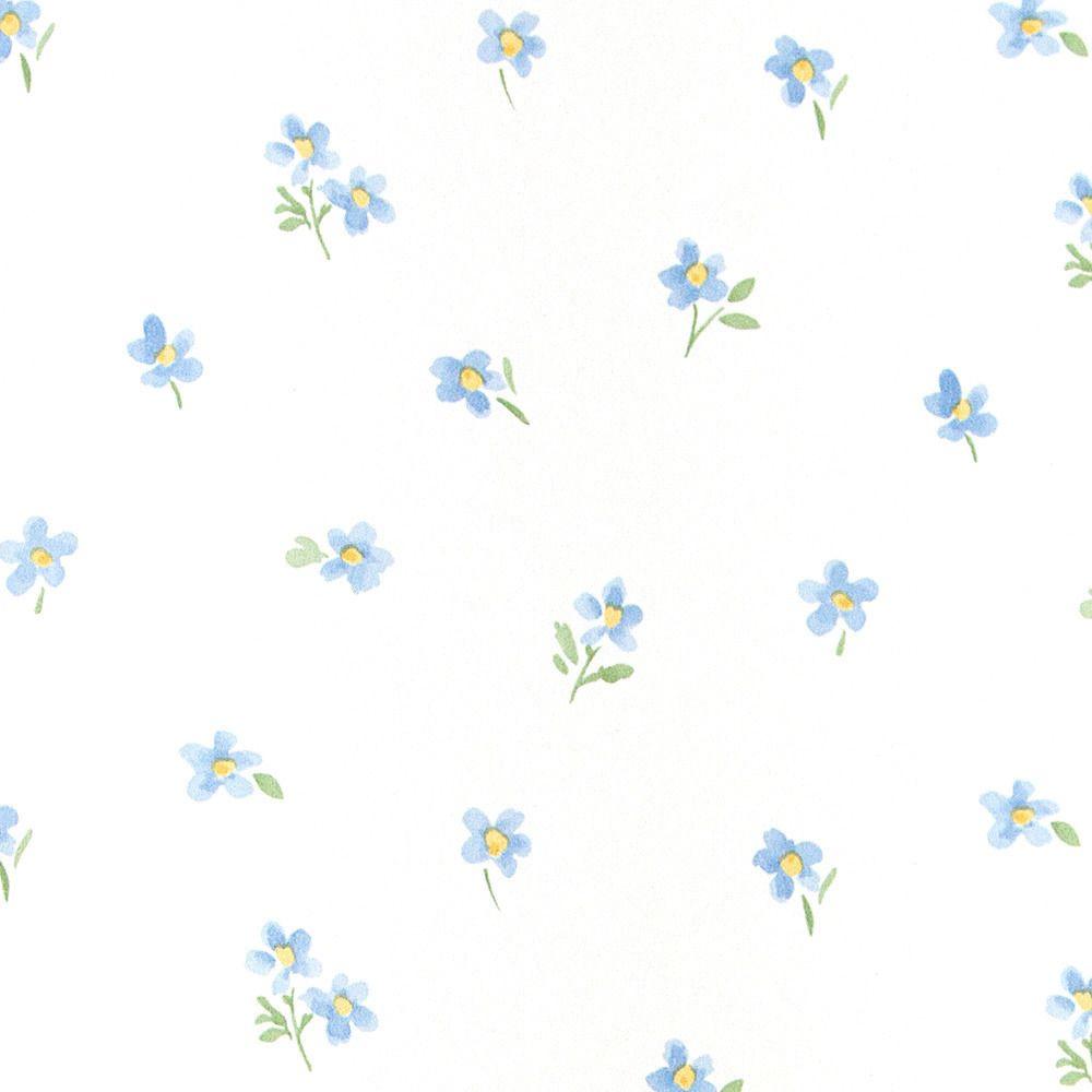 Dickens 1- Papel Pintado ,Papel,Petit Motifs V,Azul,Verde,Amarillo ...