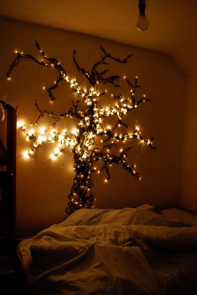 50 Trendy and Beautiful DIY Christmas Lights Decoration Ideas ...