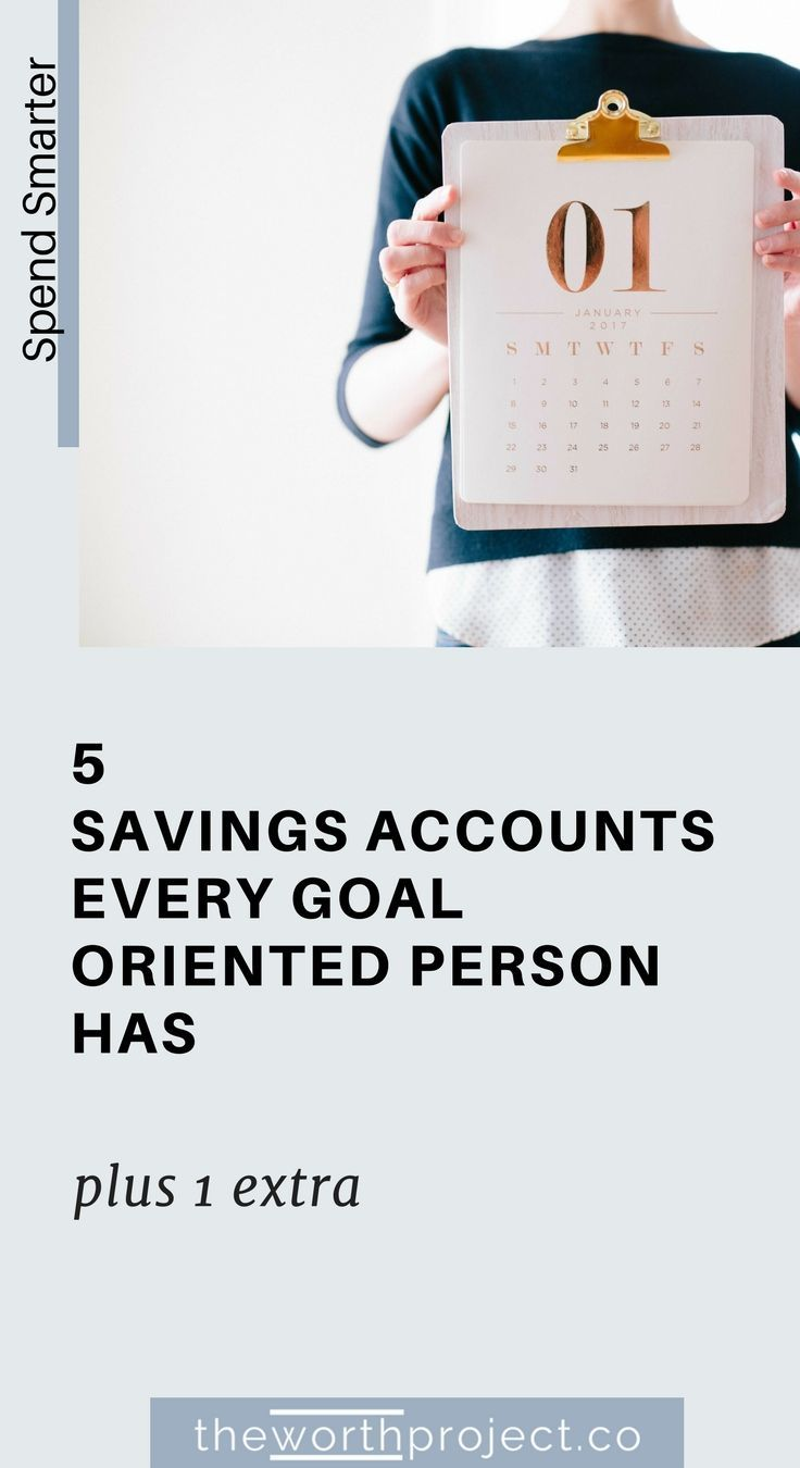 how many savings accounts should i have