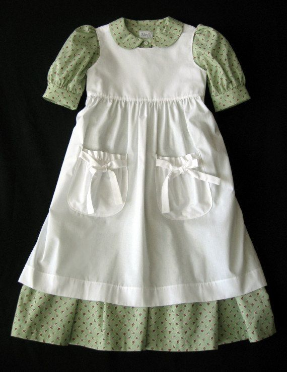 pioneer dress girls   Little House on the Prairie / Pioneer party ...