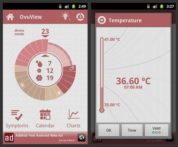 OvuView Android app