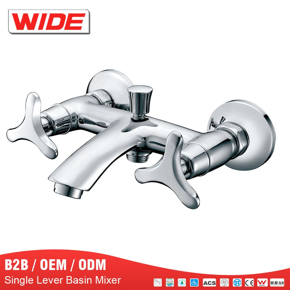 Chrome bath tub hand hold shower mixer faucet from China WIDE ...