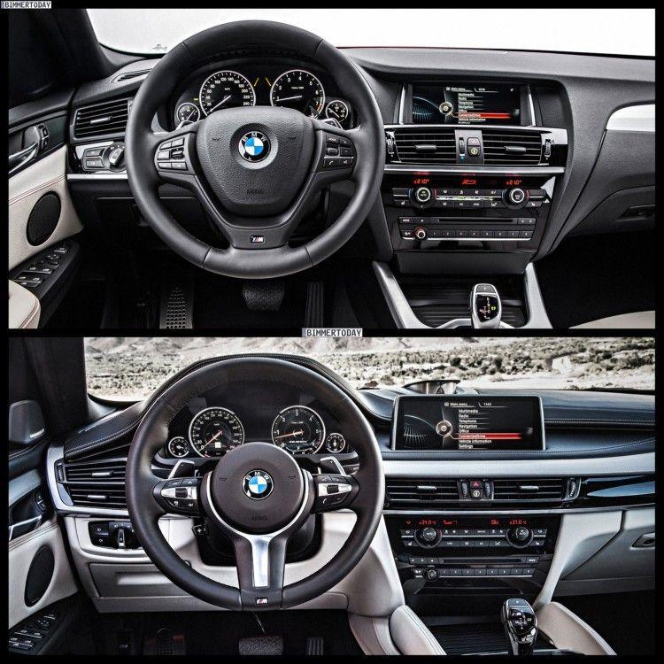 2015 Bmw X1 Interior: 2015 BMW X4 On Top. 2015 BMW X6 On Bottom