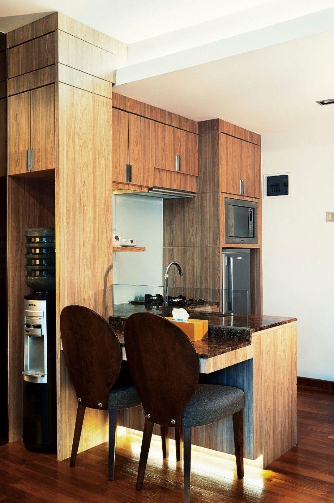 Modern Kitchen TAMAN SARI SEMANGGI STUDIO APARTMENT