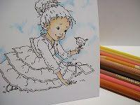 Multicultural skin tones with prismacolor pencils