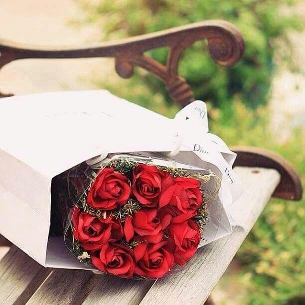 باقة ورد Red Roses Flowers Rose