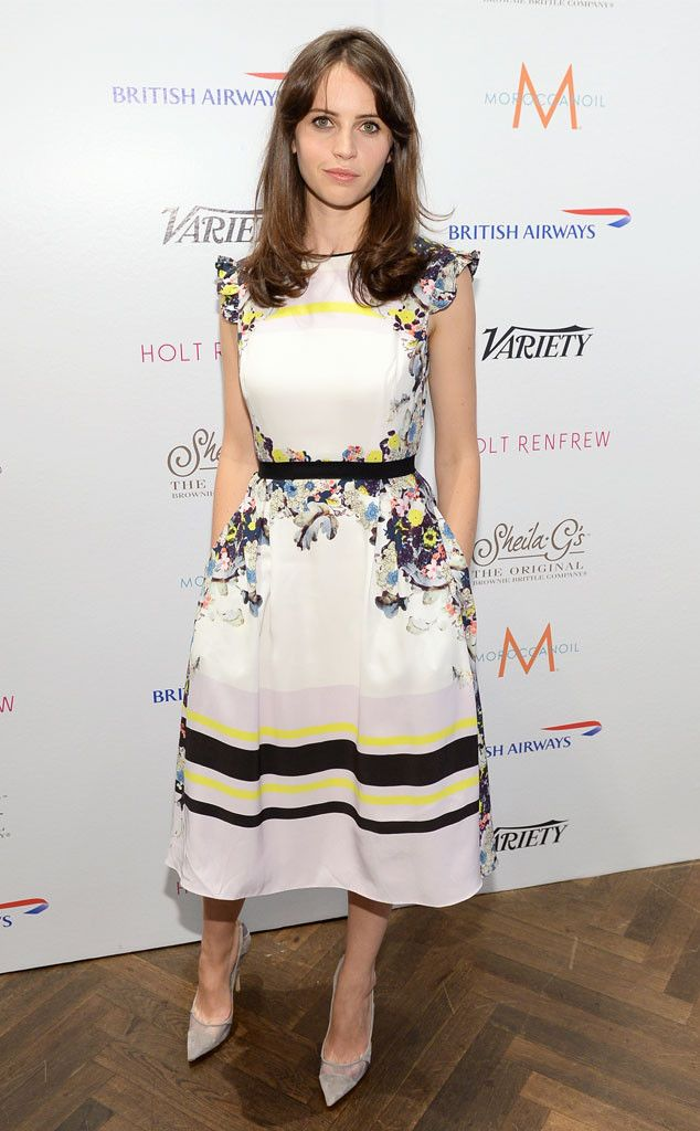 Fit to Print from Felicity Jones\' Best Looks