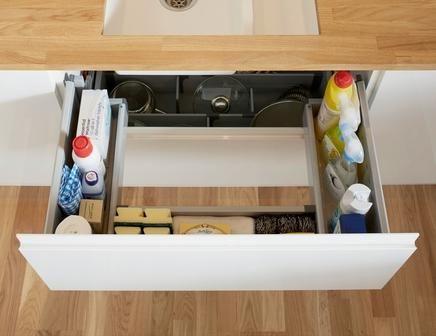 Kitchen Sink Organizer Ideas Google Search Cabinets Pinterest