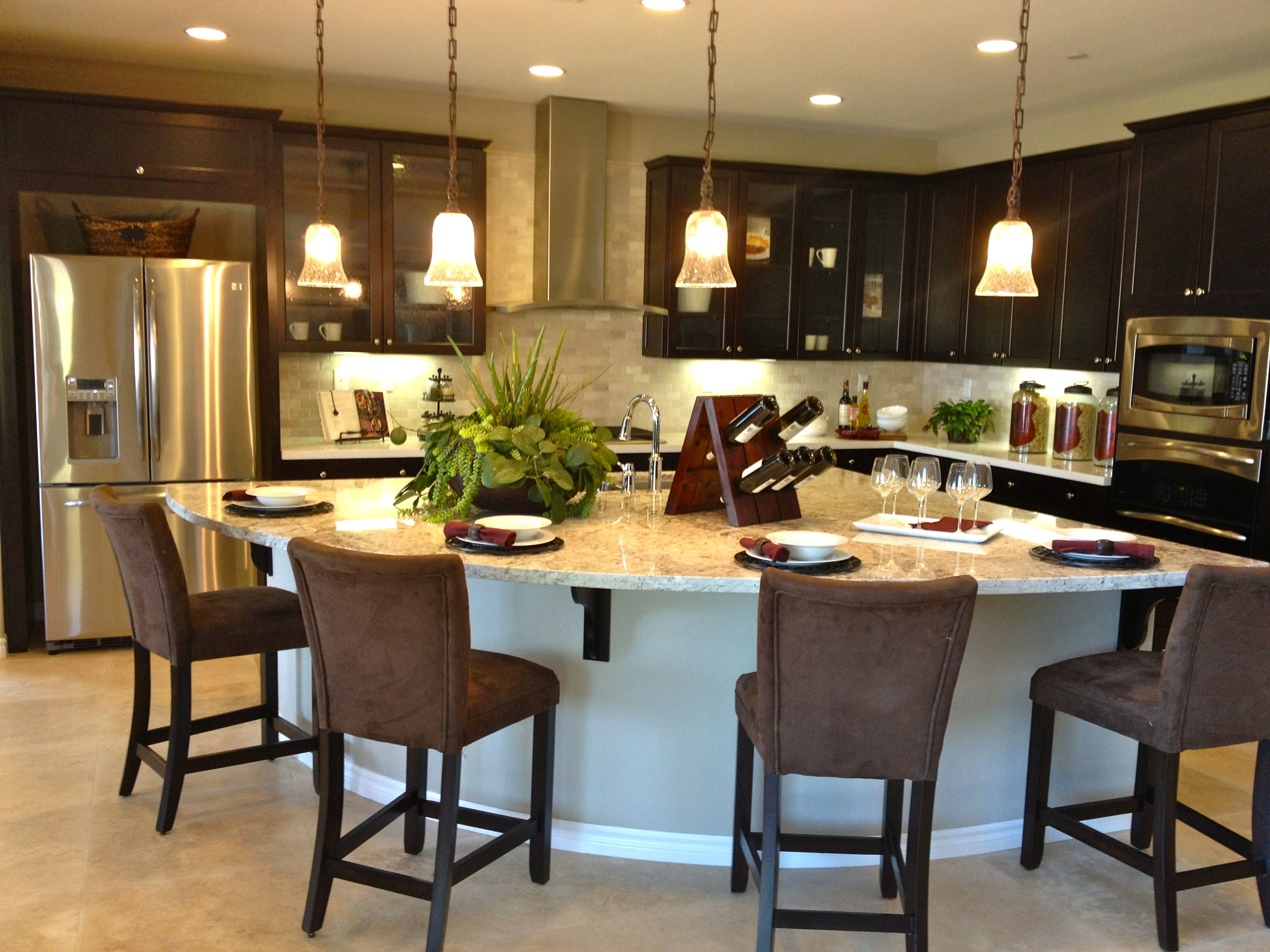 kitchen with crescent shaped island u shaped kitchen diy kitchen u shaped kitchen island on u kitchen with island id=25085