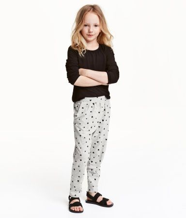 Harem Pants | Gray | Kids | H&M US