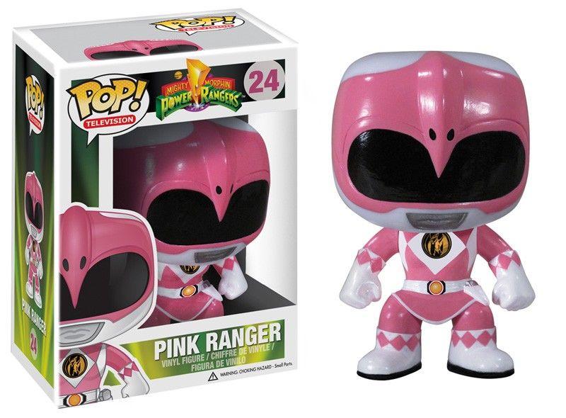 Power Rangers Vinyl-Funko Pink Ranger Metallic US Exclusive Pop