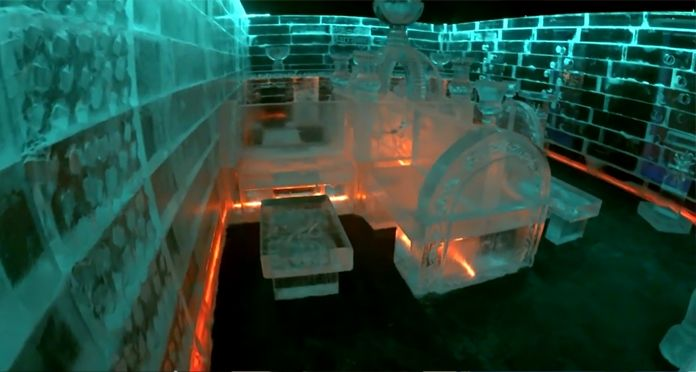 New ICE BAR @ Avenue Mohamed V in Marrakech - Polar cold and electric atmosphere...Get ready for the party in the new fashionable place in Marrakech...