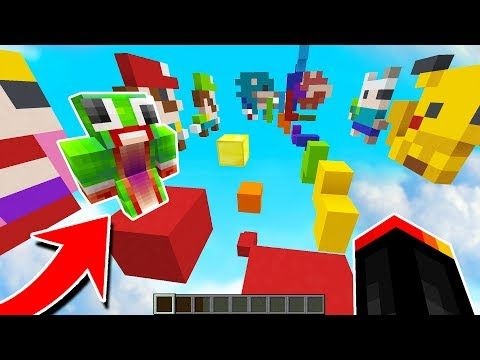 MINECRAFT 8-BIT PARKOUR! with PrestonPlayz