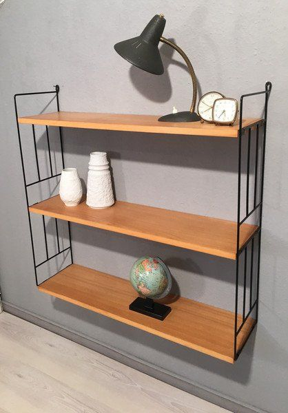 Regale Frankfurt vintage regale string wandregal leiter mid century shelf