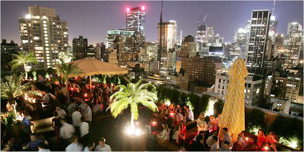 Nyc Nightlife Rooftop Bars Nyc New York Rooftop Bar New York