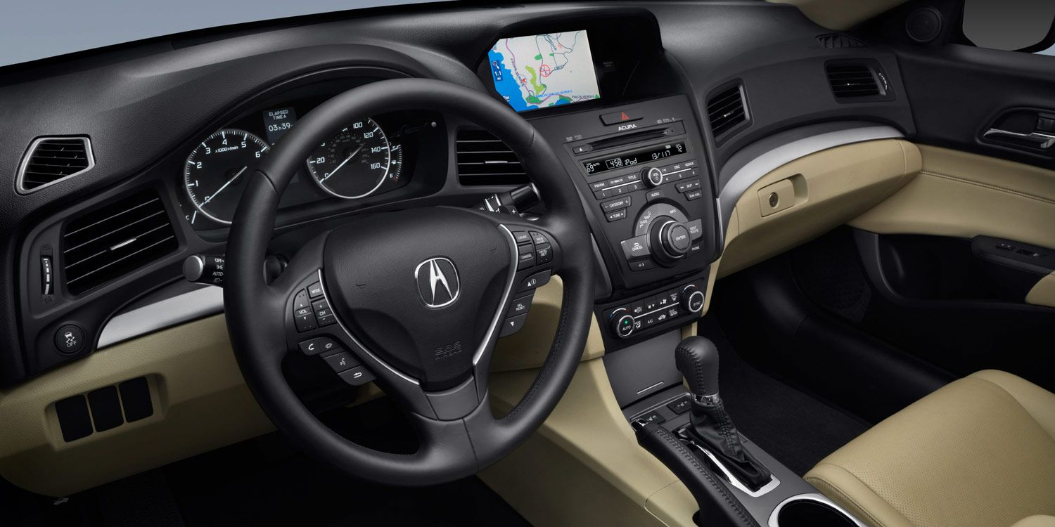2013 Ilx Interior 5 Speed Automatic With Technology Package And Parchment Interior Technology Package Acura Acura Ilx