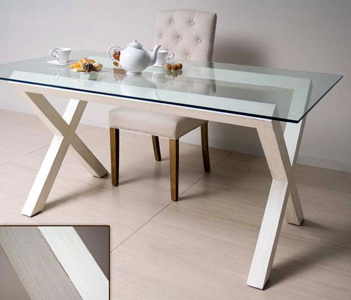 MESA VIDRIO - Buscar con Google | perfect home | Glass dining table ...