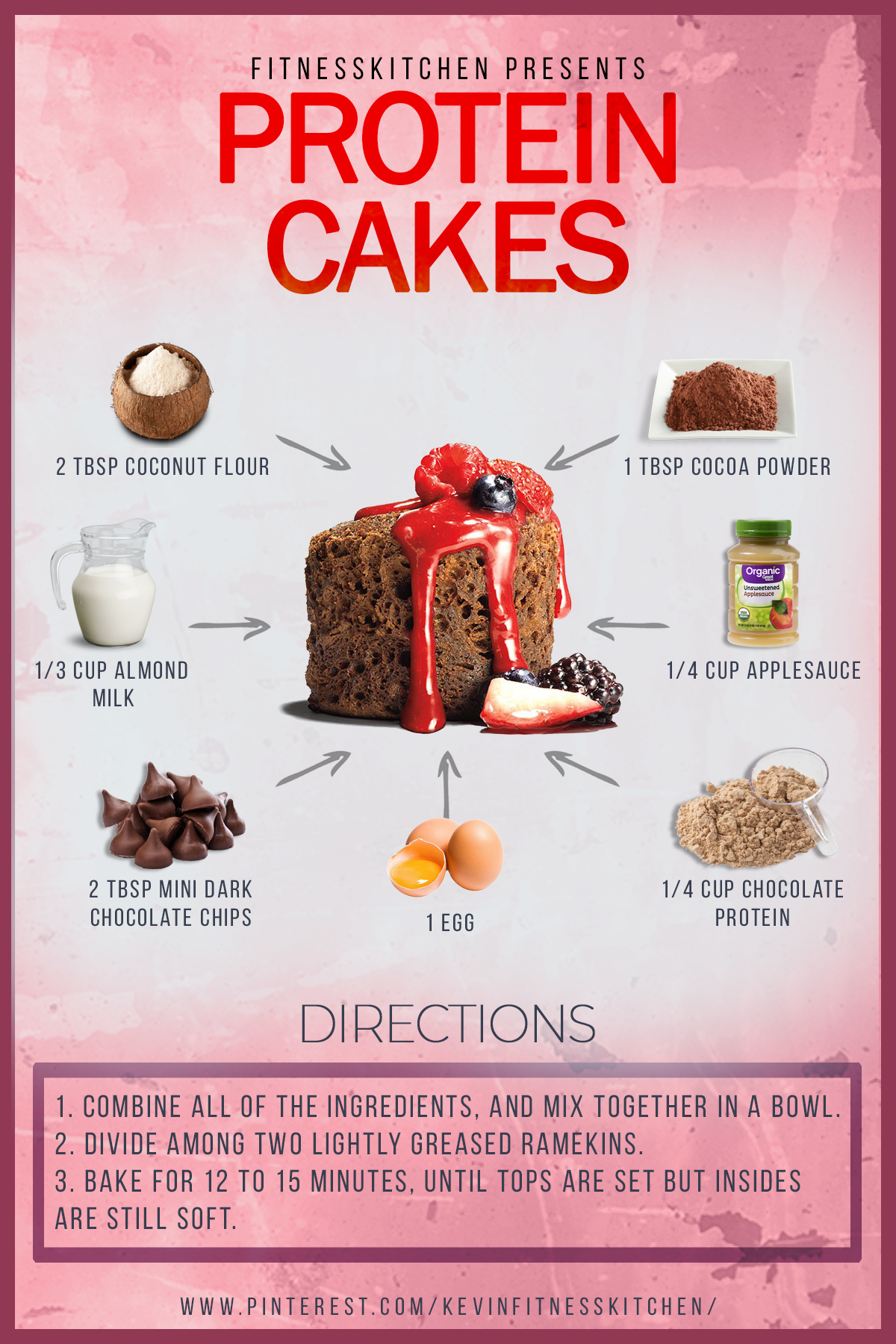 These snack cakes come packed with protein so you can indulge guilt-free. #health #healthy #healthyc...