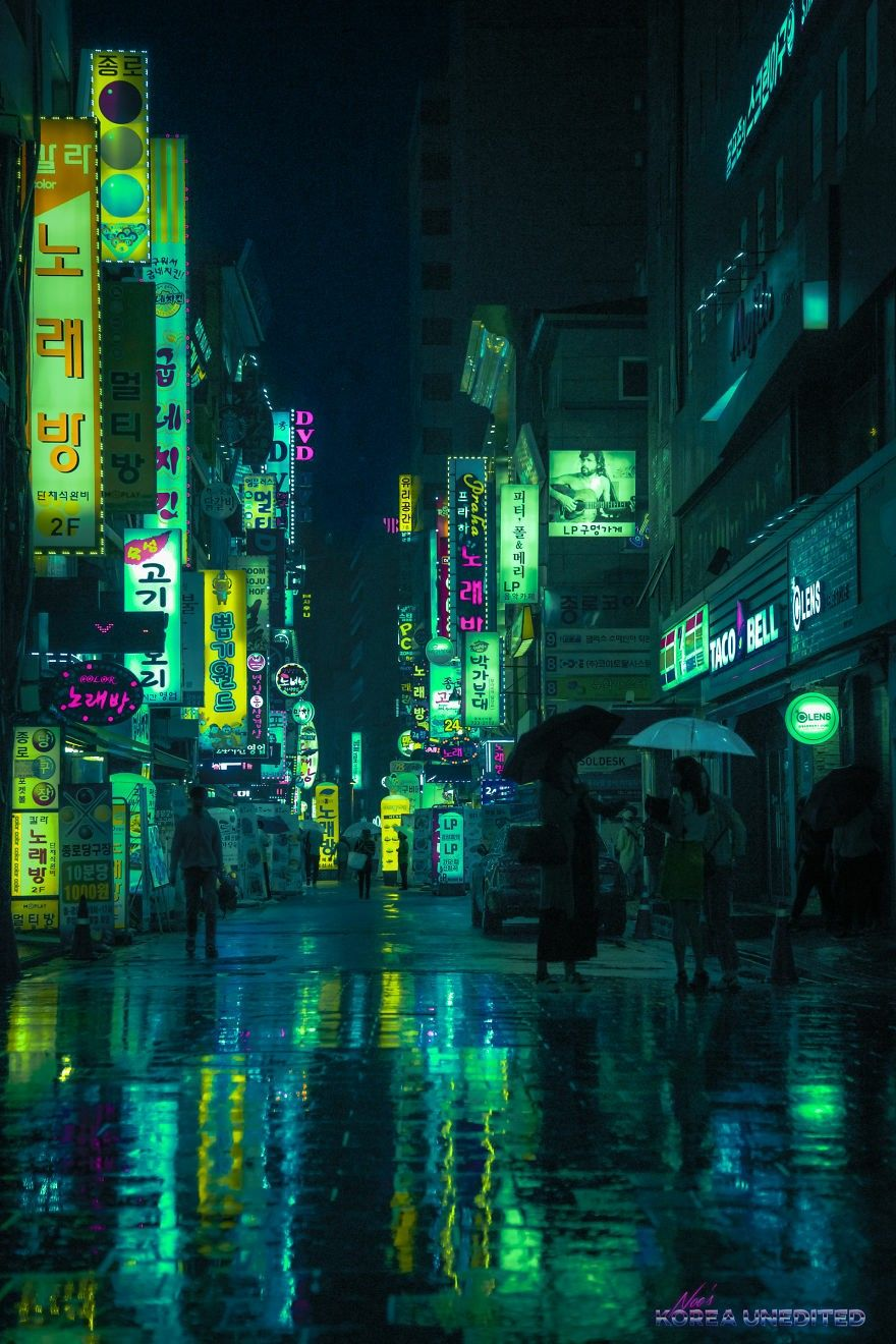 Pin By Moka 모카 On Interesting Photography Dark Green Aesthetic Green Aesthetic City Aesthetic