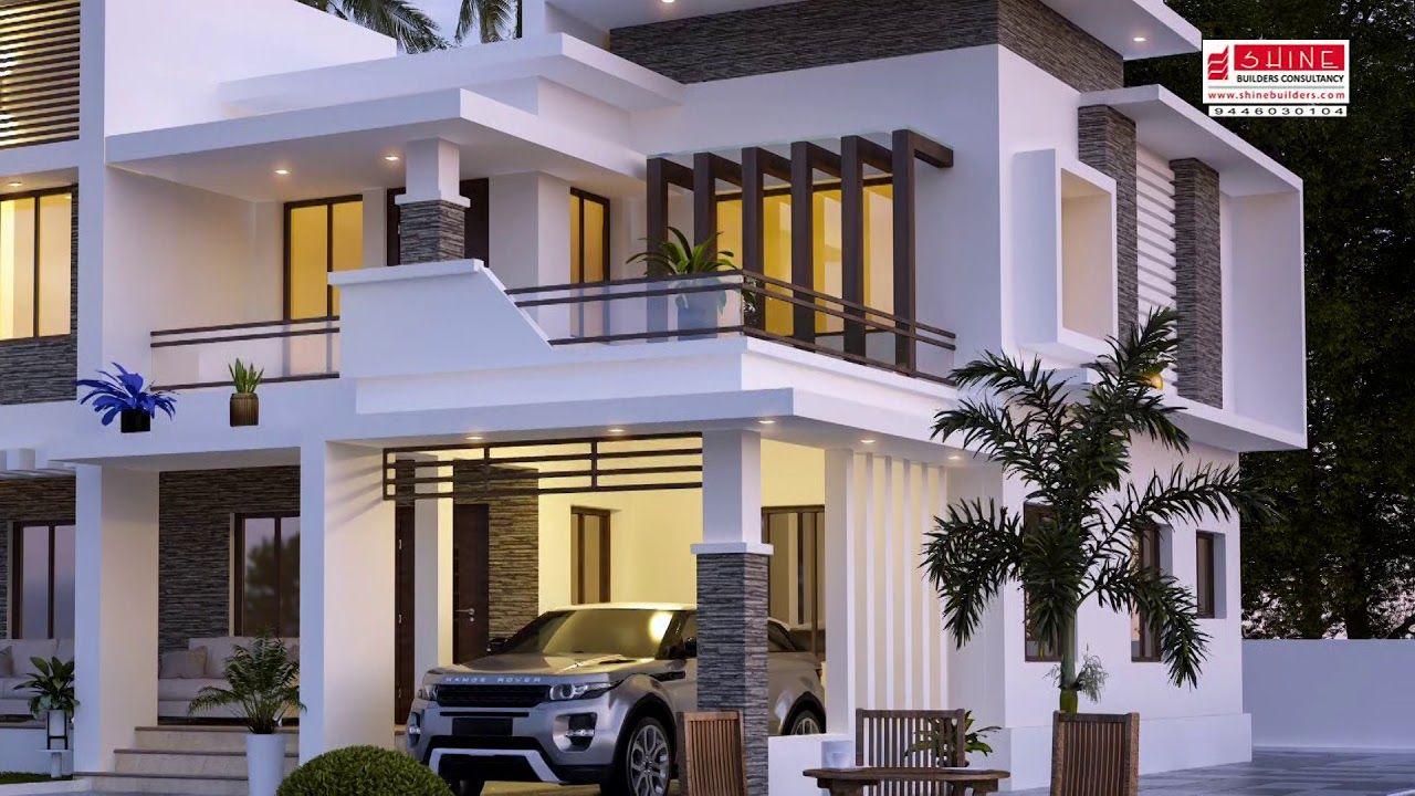 Dream Home For Babu Mob 9447730104 Youtube Dream House Plans Dream House House Plans