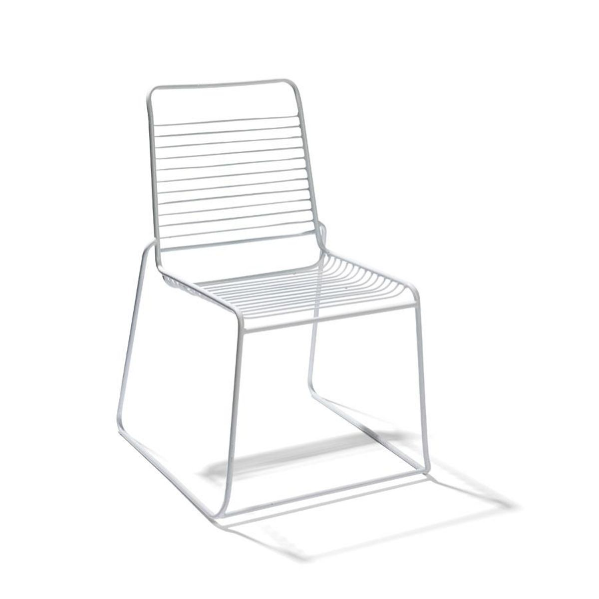 Bistro Chair - White  Kmart  Wire outdoor chairs, Outdoor chairs