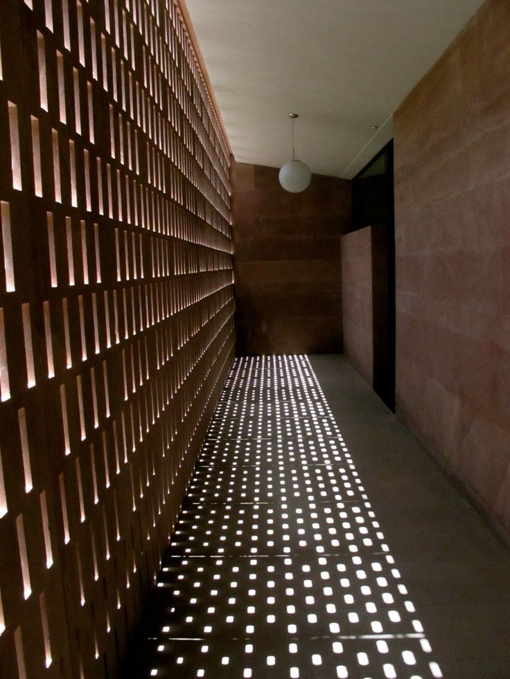 Corridor Roof Design: Pin By K L On Archicture-brick(磚) In 2019