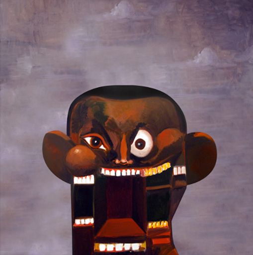 George Condo Artwork For Kanye West S Power Single Highsnobiety Beautiful Dark Twisted Fantasy George Condo Dark And Twisted