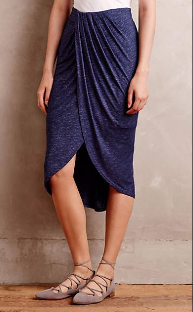 Maleo Draped Skirt #anthrofave