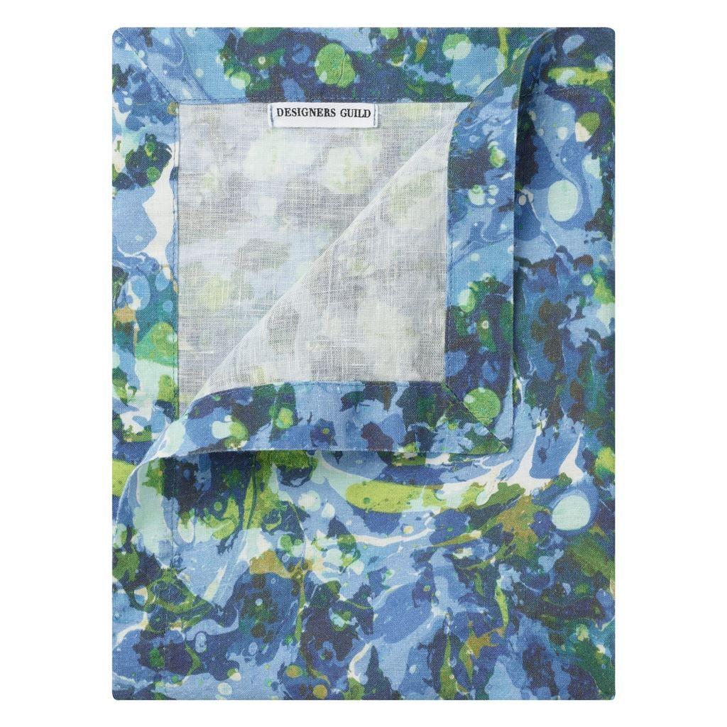 Delahaye Cobalt Runner Placemats Napkins Designers Guild Placemats Fabric Wallpaper Designers Guild