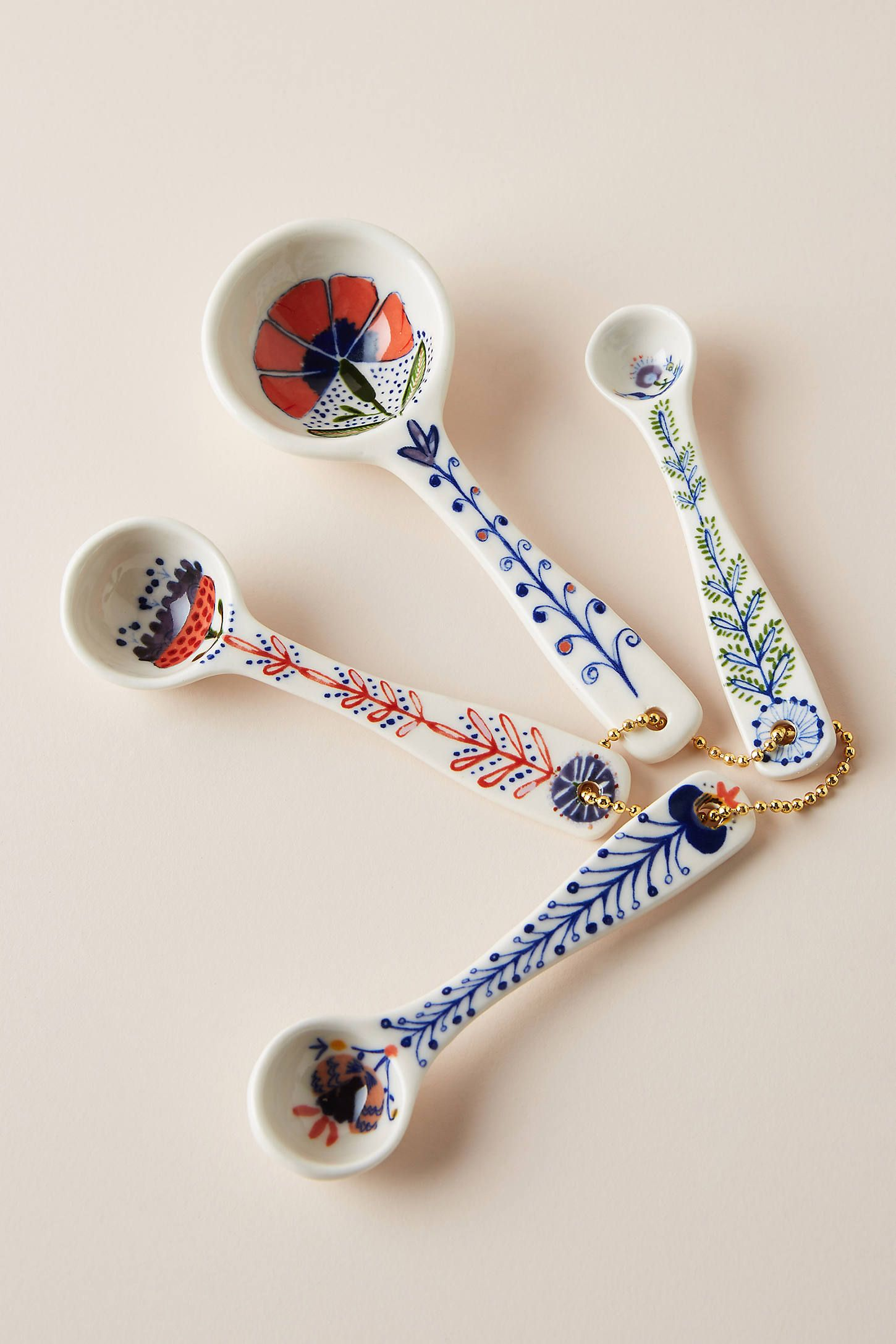 Marian Measuring Spoons, Set of 4