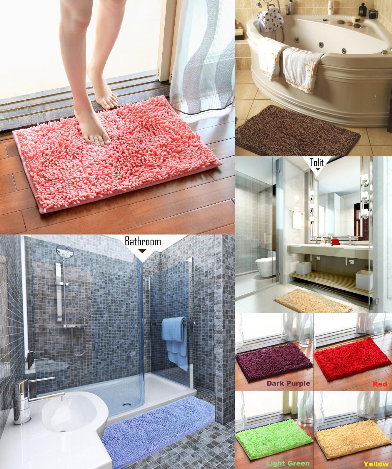 Visit To Buy 40x60 50x80 60x90cm Bath Mat For Bathroom Rug Carpet
