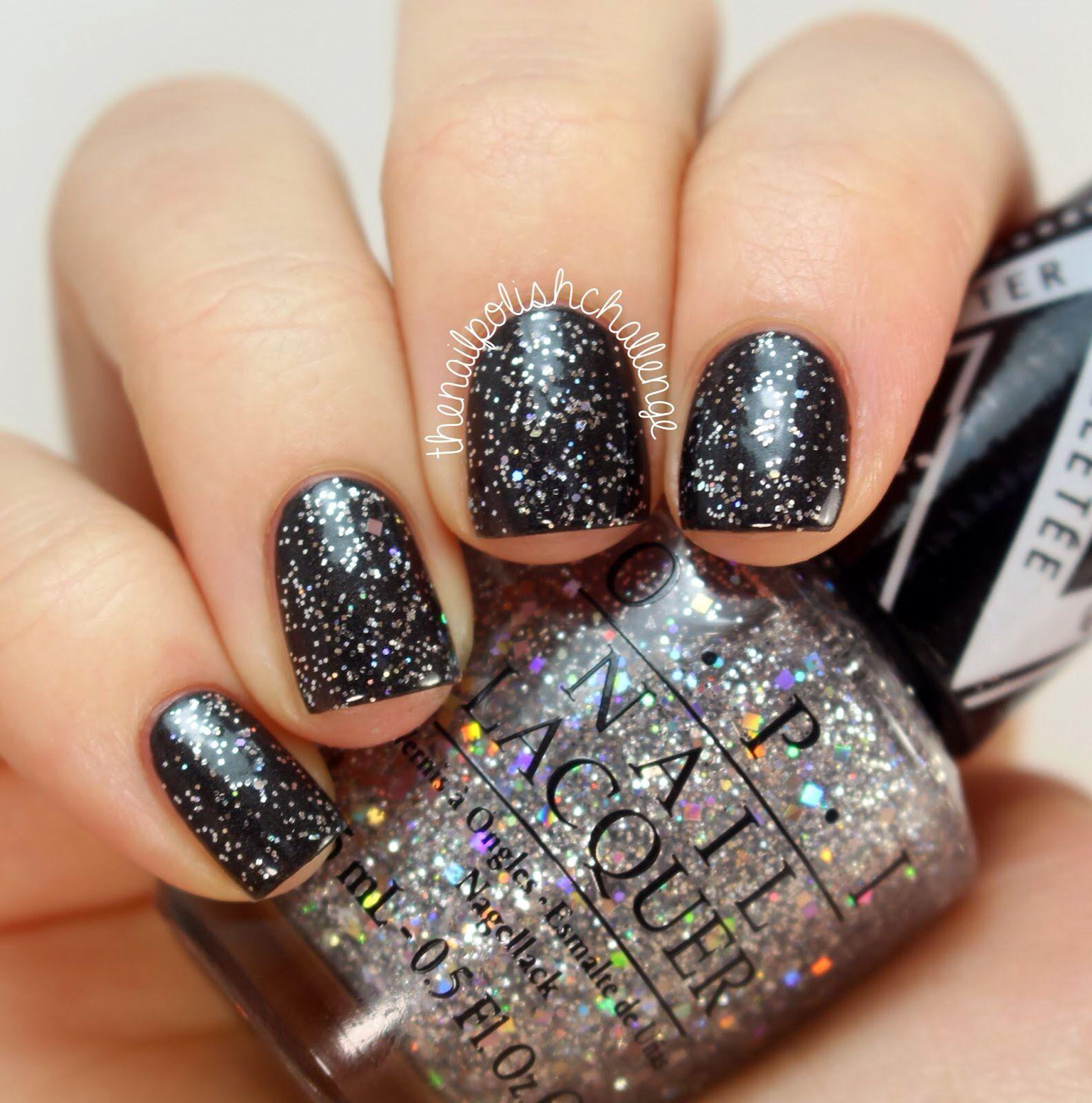Holographic Glitter Nails by @thenailpolishchallenge Polish: OPI ...