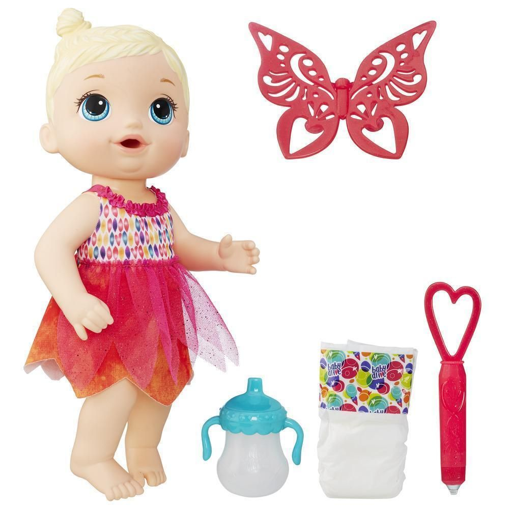 Baby Alive Baby Alive Face Paint Fairy Doll Blond Hasbro Nib Baby Alive Doll Face Paint Baby Fairy
