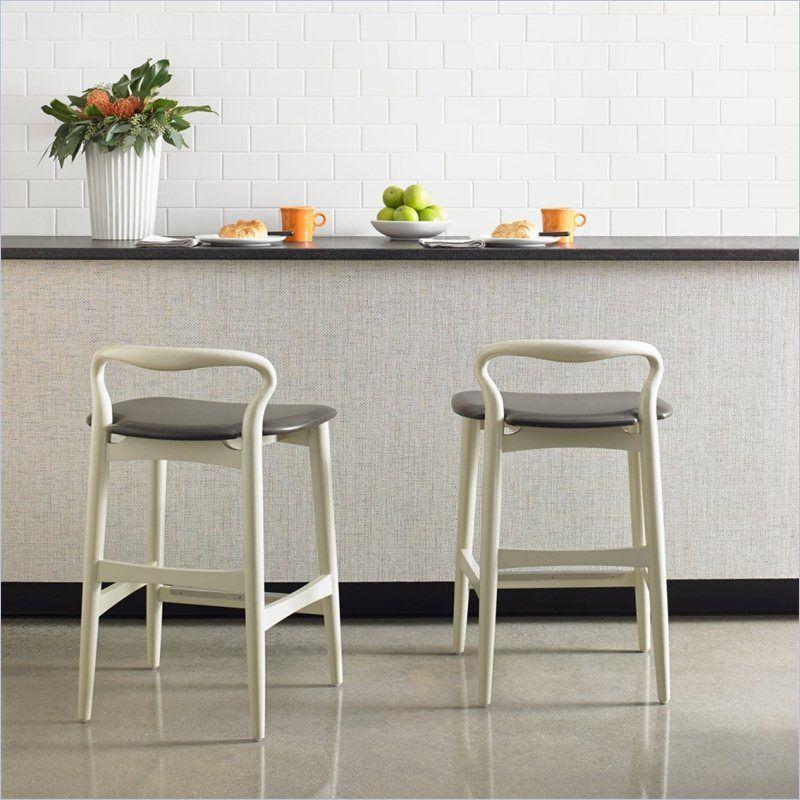 Crestaire   Hooper Counter Stool In Capiz   436 21 72   Stanley Furniture    Modern Furniture
