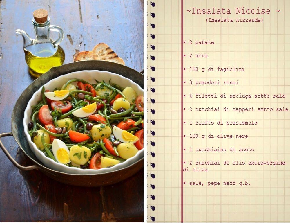 .: Sapori provenzali: tre insalate per fine estate ~