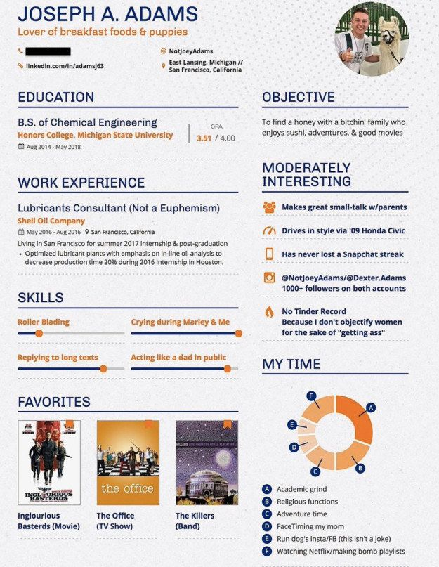 Dating Resume Template : dating, resume, template, College, Student, Dating, Resume, Honestly, Pretty, Amazing, Resume,, Experience