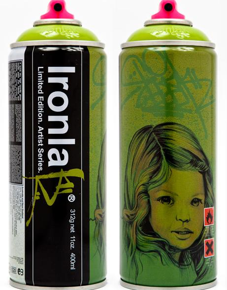 Ewok Limited Edition Can Ironlak Graffiti Graffiti Spray Paint Graffiti Spray Paint Cans